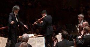sibelius concierto violin nagano