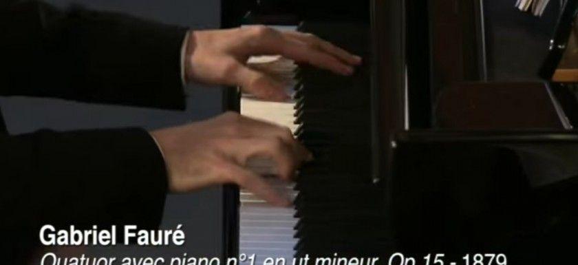 faure cuarteto con piano