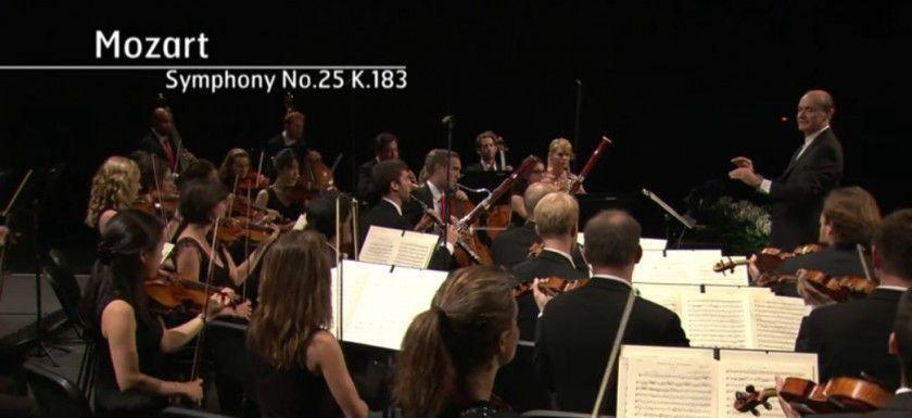 Mozart sinfonia nº 25