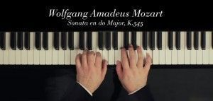 mozart sonata facile