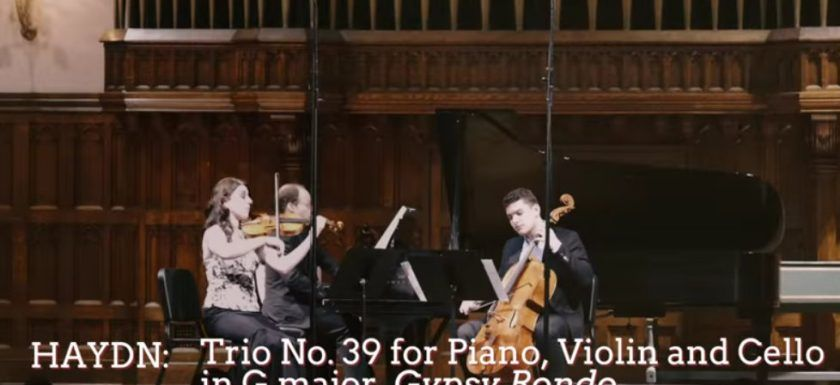 haydn trio all'ongarese