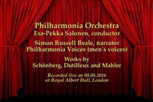 BBC Proms 2016 Mahler