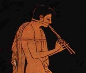 Musica en la antigua Grecia